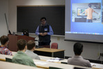 """David Duarte presents on """"Measuring the impact on the physical condition in school children exposed to Exergaming"""""""