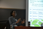 """Simone Walcott presents on """"Phytochemicals from Croton species of Trinidad and Tobago"""" by Sarah Burton"""