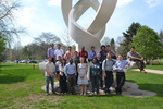 2014 Andrews Research Conference Group by Sarah Burton