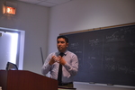 """Gener Aviles-Rodriguez presents on the """"Study of Experimental Validation for Negative Pressure Wound Therapy"""""""