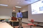 "Johnson Luma presents on ""Improving Mortar Crack Resistance with Hardwood Pulp Fiber as an Internal Curing Agent"""