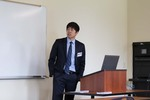 "Injae Son presents on ""Values of Seventh-day Adventist Philosophy of Education and Graduate Social Science Programs in Seventh-day Adventist Universities"""