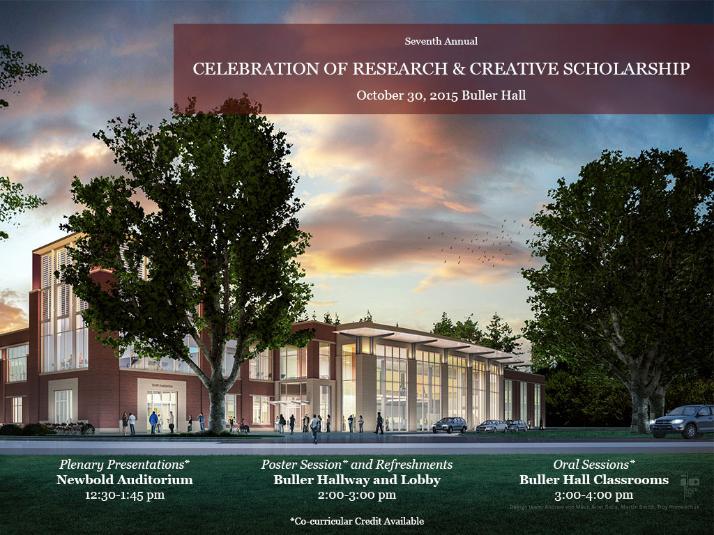 2015 Celebration of Research and Creative Scholarship