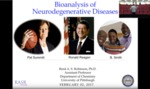 Bioanalysis of Neurodegenerative Diseases