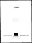 Hesban 05: Archaeological Survey of the Hesban Region: Catalogue of Sites and Characterization of Periods