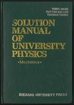 Solution Manual of University Physics: Mechanics