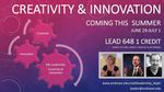Creativity & Innovation in Leadership