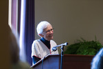 Esther Hare Speaks for Women's Scholarship