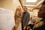 "Music professor Kenneth Logan presents his poster ""Musical Composition Efficiency Project"""
