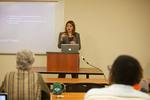 "English professor Vanessa Corredera presents ""Physiognomy, Art, and Artifice in The Rape of Lucrece and The Devil's Law-Case"""