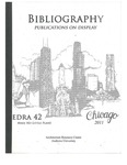 edra 42: Bibliography of Books on Display