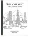 edra 42: Bibliography of Books on Display
