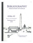 edra 41: Bibliography of Books on Display