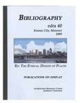 edra 40: Bibliography of Books on Display by Kathleen Demsky