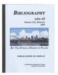 edra 40: Bibliography of Books on Display