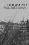 edra 47: Bibliography of Books on Display