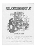 edra 26: Bibliography of Books on Display