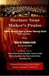 Declare Your Maker's Praise