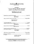 Lower Strings Studio Recital