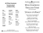Wind Symphony Thailand Tour by Department of Music