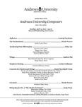 Sunday Music Series: Andrews University Composers