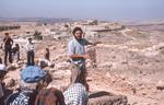 Hesban Dig Site Tour-Larry Herr by Larry Mitchel
