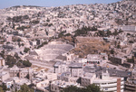 Downtown Amman-Roman Amphitheater by Larry Mitchel