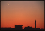 Madaba-Skyline At Dawn by Larry Mitchel