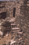 Umm El Jamal-Cantilever Steps by Larry Mitchel