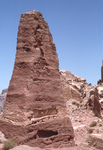 Petra-Standing Stone by Larry Mitchel