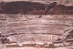 Petra-Amphitheater by Larry Mitchel