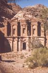 Petra-Edh Deir-The Treasury by Larry Mitchel