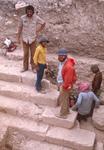 Tell Hesban-Roman Monumental Stairs-Larry Herr Center-Ron Geraty Upper Left