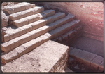 Tell Hesban-Roman Monumental Stairs by Larry Mitchel