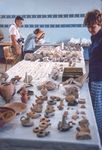 Madaba-Finds Distrib-Carola Checking Out Finds