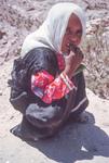 Petra-Bedouin Girl by Larry Mitchel
