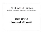 1993 World Survey, General Conference of Seventh-day Adventist, Report to Annual Council