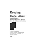 Keeping Hope Alive