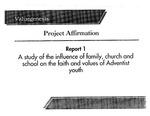 Valuegenesis Project Affirmation