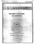 Teacher Concerns: An Overview