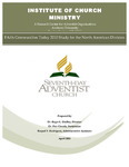 Faith Communities Today 2010 Study for the North American Division