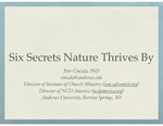 Six Secrets Nature Thrives by: Intro to Living Organically