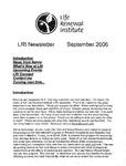 2006 September Newsletter