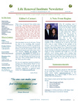 2007 October Newsletter