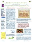 2009 April Newsletter