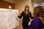 "Honors Scholar Kathleen Wilson explains her poster ""Diagnosis"" And Other Essays: Exploration In Personal Writing by Andrews University"