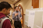 "Honors Scholar Erik Thordarson explains his poster ""Factors Affecting Phonotactic Responses in Male Acheta domesticus"""