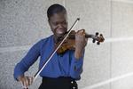 Violinist by Clarissa Carbungco