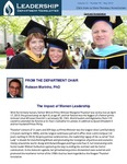 Leadership Department Newsletter - May 2013
