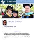 Leadership Department Newsletter - August 2013